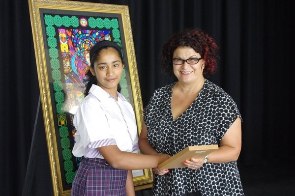 Alyssa Fernandez, Year 11, was recently honoured for her service, passion and commitment to her College and her community when she was awarded the City of Canada Bay's Young Citizen of the Year Award by Mayor Tsirekas.