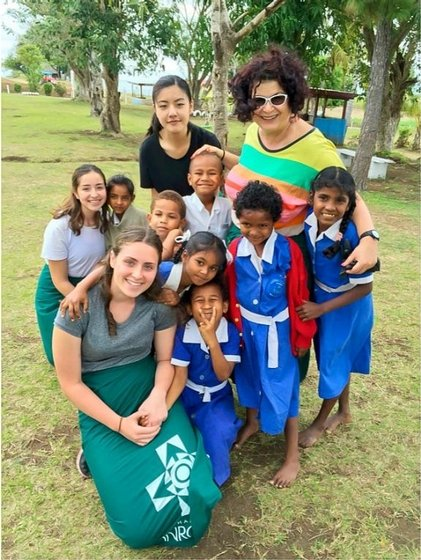 Domremy students and staff take part in the College's first immersion to Fiji during the October 2015 holidays.