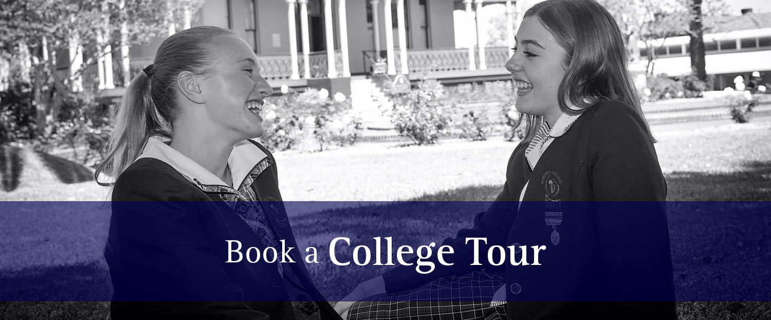 Book a College Tour BW blueband