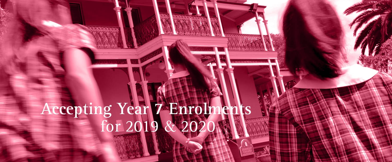 Accepting 2019/2020 Enrolments PINK