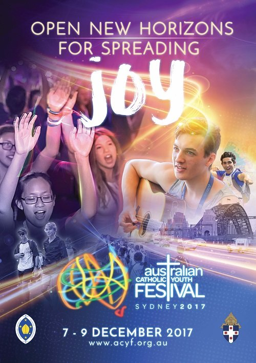 2017 is the year of the Australian Catholic Youth Festival 2017 (ACYF). This year from 7 - 9