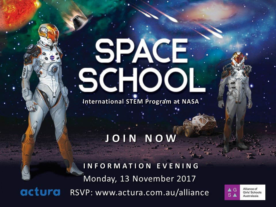 There was a good turnout at Domremy College last Tuesday evening when the College hosted the 2018 Space School Information Evening.