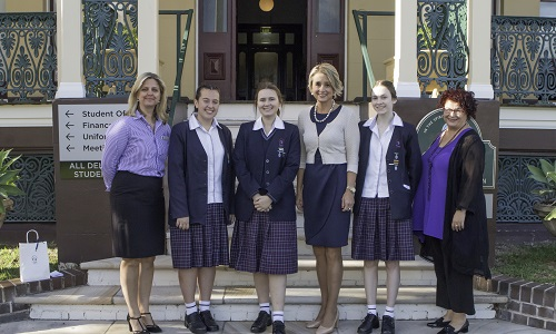 As part of HSIE week the Domremy College community celebrated International Women's Day with a focus on