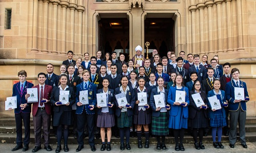We congratulate Jane, Yr 12, deserving recipient of this year's Archbishop of Sydney Award for Student Excellence. Jane received her award at a ceremony at St Mary's Cathedral on Friday 7 September, recognising her commitment to social justice & the faith life of her school, parish, & community.