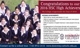 The College congratulates the Class of 2016 with notable achievements! ... ...