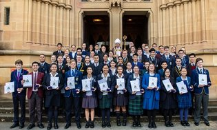 We congratulate Jane, Yr 12, deserving recipient of this year's Archbishop of Sy...