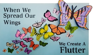"In a literal sense, the term ""flutter"" is defined as a group of butterflies. Thi..."